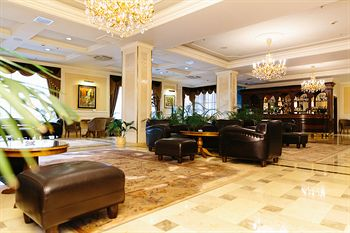Lobby of The Grand Emerald Hotel *****, St. Petersburg