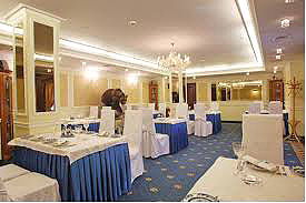 Restaurant at the Grand Emerald Hotel, Saint Petersburg