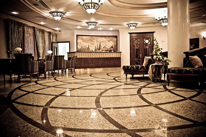 Lobby, Garden Ring Hotel ****, Moscow