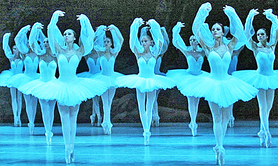 Ballet performance at world famous Mariinsky Theatre St. Petersburg Russia
