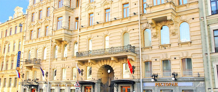 Petro Palace Hotel, downtown St.Petersburg