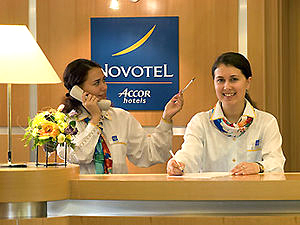Hotels in Moscow: Novotel Moscow Centre ****
