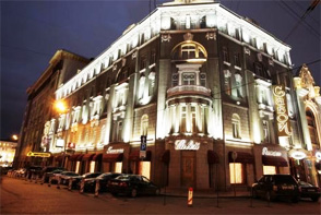Moscow: Savoy Hotel Boutique Luxury *****