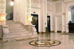 Moscow: Lobby of Savoy Luxury boutique Hotel *****