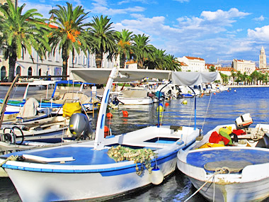 Adriatic coast: Split