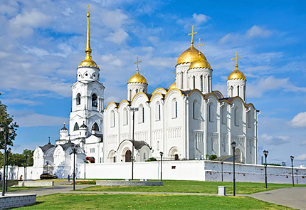 UNESCO sight: Uspensky Cathedral, Vladimir Golden Ring, Russia