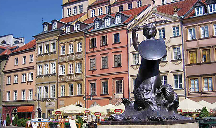 Statue of the Warsaw Mermaid