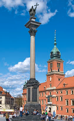 Royal Castle and King Sigismund Column