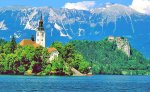 Lake Bled is Slovenia's most popular tourist attraction