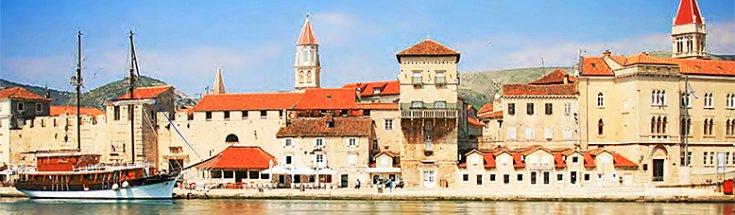2022 Adriatic coastline Cruise, Dubrovnik-Zadar, 8 Days | Zadar Harbor with ancient architecture