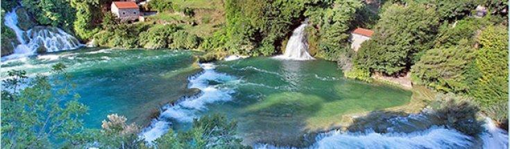 Krka National Park, Waterfalls